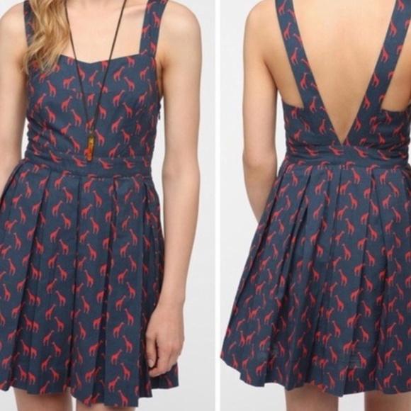 Cooperative Dresses & Skirts - Cooperative Giraffe Print Dress